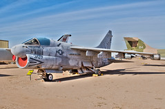 vought a-7e corsair II (Matt Ottosen) Tags: arizona airplane nikon raw tucson aviation single hdr a7 d90 vought pimaairspacemuseum photomatix corsairii pasm singleraw