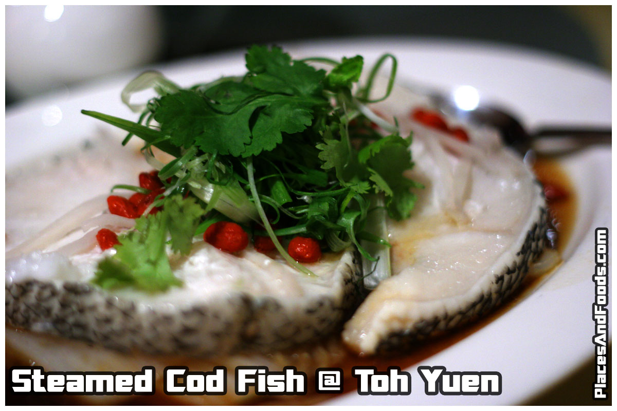steam cod fish
