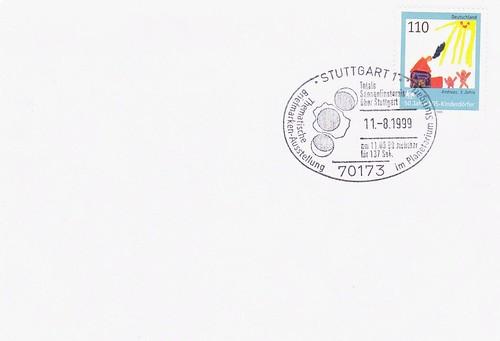 11 AOÛT 1999 / ECLIPSE TOTALE DU SOLEIL / STUTTGART