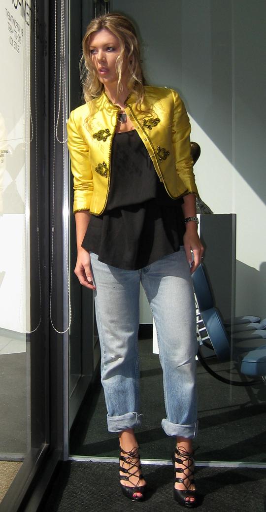 yellow-beaded-band-blazer-lace-ups-2