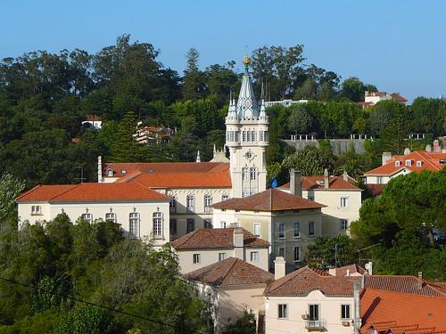 Torre del ayuntamiento de Sintra.