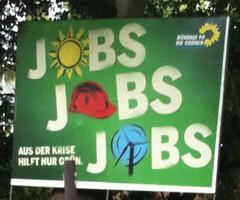 wahl 05 Grüne Jobs Jobs Jobs