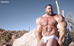 3713630303_3d244f4c88_o (MuscleAB) Tags: muscles muscle hunk huge bodybuilder bulge morphed