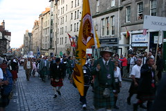 Clan Nicolson at The Clan Parade - The Gathering