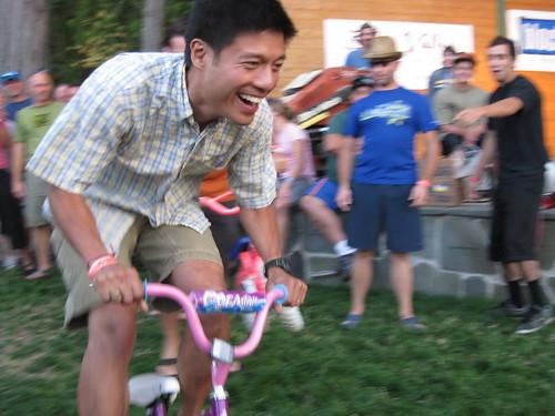 MBO kids bike race