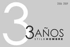 STILO HOMBRE | TRES AÑOS
