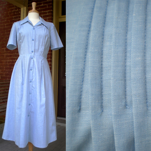Ebay Chambray Cotton Dress
