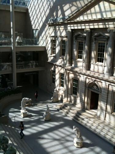 Interior façade, Engelhard Court, Met Museum