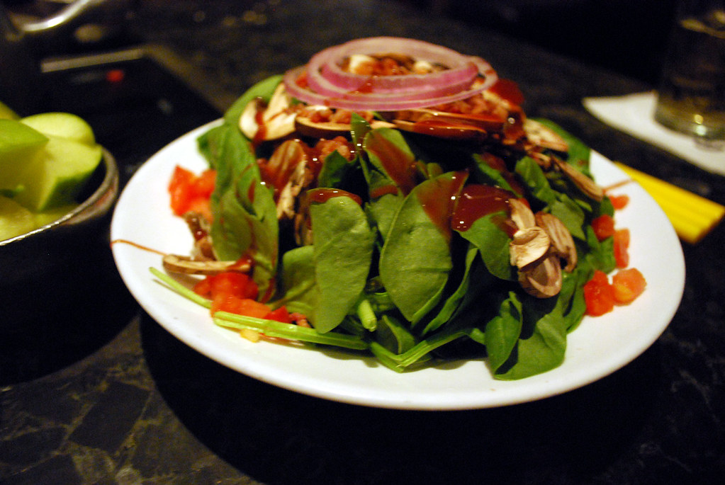 MP Spinach salad