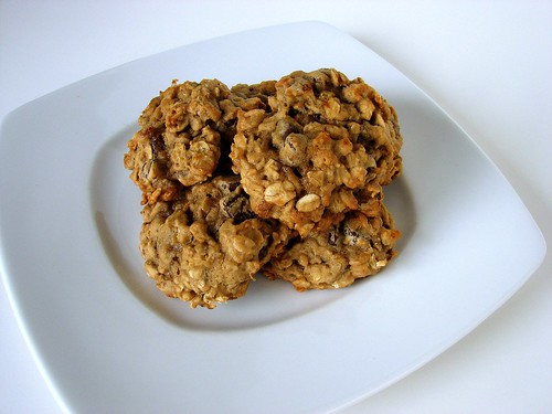 Banana Oatmeal CC Cookies