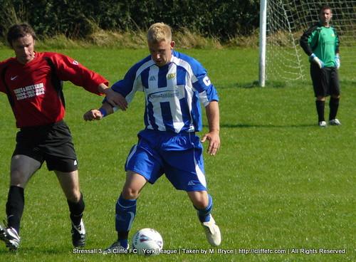 Cliffe FC vs Strensall 12Sept09