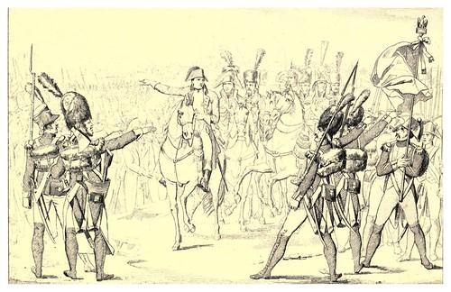002-Alocucion de Napoleon antes de una batalla-The Napoleon gallery 1846
