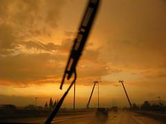 Zig (Micheo) Tags: road sunset storm night atardecer tristeza noche carretera nostalgia tormenta ok tenderness ternura delicadeza drivebyshoot homesickness micheo