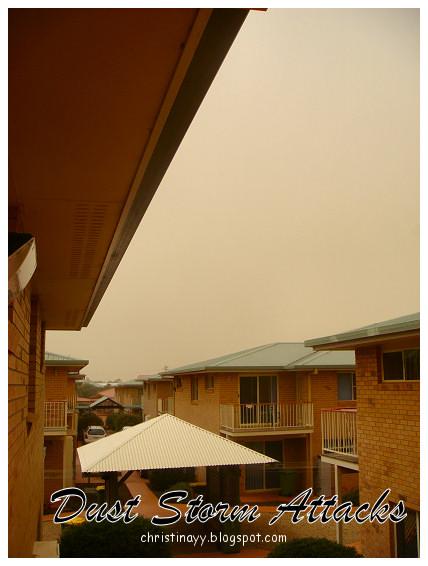 Toowoomba Dust Storm