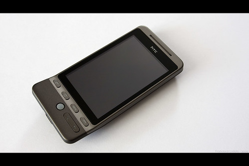Htc Hero Gray (wallpaper)