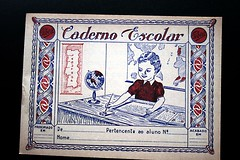 Caderno Escolar do Estado Novo (O respigador e a respigadora) Tags: old school portugal vintage notebook escolar novo caderno antigo estado