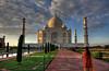 Taj Mahal, Sep 2009 (RolAdn) Tags: india canon wonder eos asia tajmahal agra soe xsi cotcpersonalfavorite 450d superaplus aplusphoto