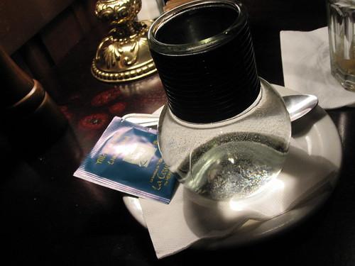 Peppermint tea at Bâton Rouge