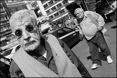 Close Up (Costas Lycavittos) Tags: street people blackandwhite bw closeup nikon streetphotography athens d300 monastiraki nikkor1755  costaslycavittos