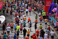 Marathon Fever (Bryony  ) Tags: charity uk england london nikon marathon run april runners embankment 2010 d40 mile25 nikond40