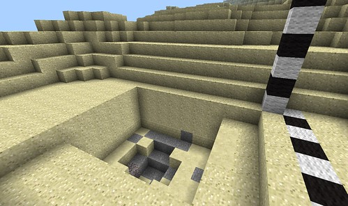 Mossy Cobble Used For The Base
