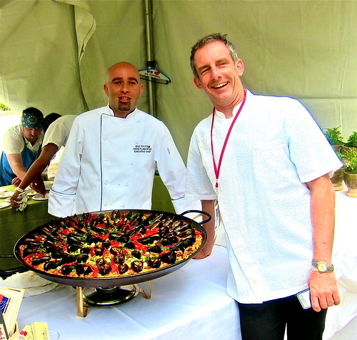 Chf JoeMiller withis Paella