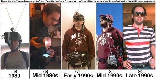 "Steve Mann's ""Wearable Computer"" / ""Reality Mediator"""
