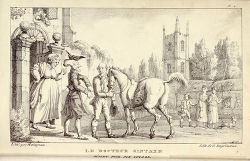 005- El doctor Sintaxis parte para su viaje-1821