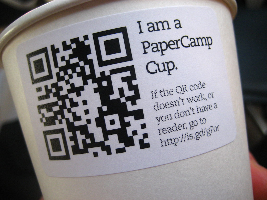 QR Code for corporate giveaways