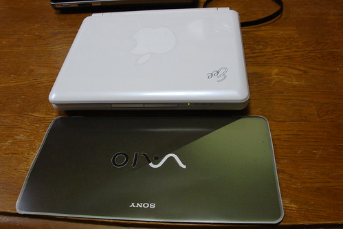 VAIO type P vs EeePC 901