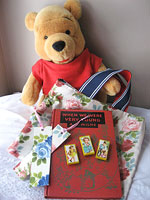 a.a. milne's birthday<p>Pooh Bag of Reading Goodies
