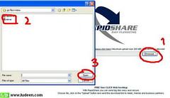 1 วิธีอัปโหลดไฟล์+การสมัครสมาชิก เว็บ rapidshare.com