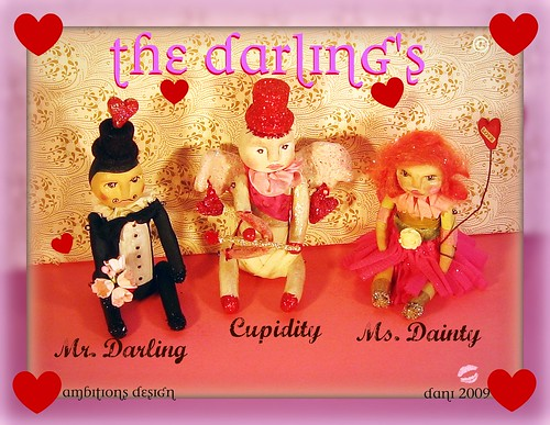 lil Darling's Valentines 2009 Art Dolls