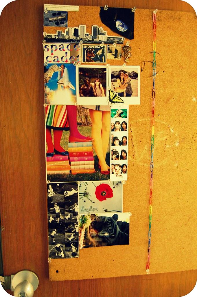 redecorated the door!