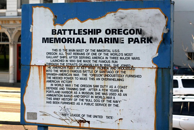 Battleship Oregon Memorial