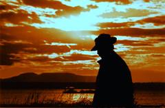 midnight-sunset-1977 (Jeff Scism) Tags: california sunset people alaska anchorage 1977 sanbernardino cookinlet earthquakepark mtsusitna scism magicalskies jefferygscism copyright1977 jeffscism