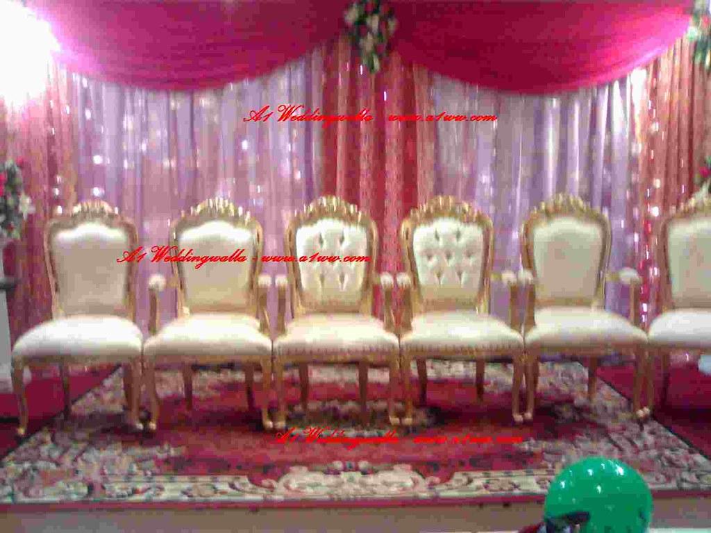 Wedding reception chair decorations chair decorations for Decorating chairs for wedding reception