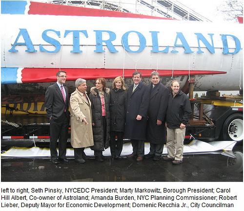 Astroland Rocket Pose