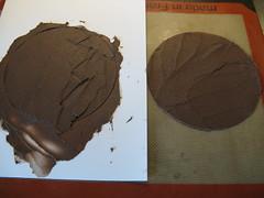 Making Tuile Circles