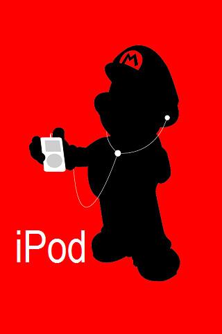 mario iphone 4 backgrounds. Mario Background - iPhone/iPod