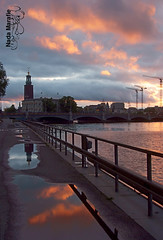 The city hall (SanforaQ8) Tags: trip sky nikon europe stockholm free photographers finepix kuwait 2008 sweeden 18200mm thecityhall s5pro sanfora