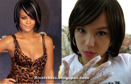 rihanna and my hairstyle
