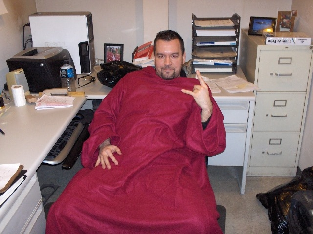 fit ink plea for a snuggie