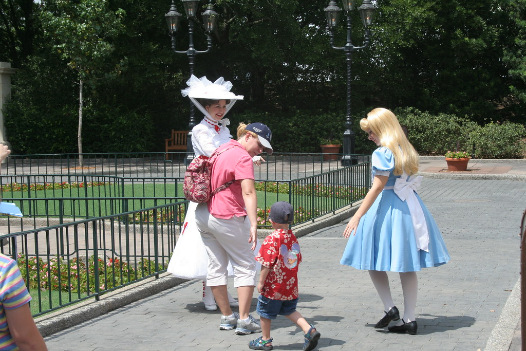 Mary Poppins & Alice in Wonderland