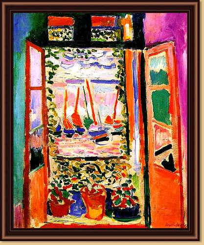 Matisse, Henri (1869-1954) - 1905 Open Window Colloire by RasMarley