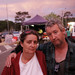 Fiona Barton and Sean Doherty, Whittlesea evacuation centre