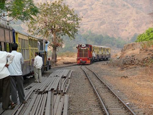 Crossing at Jummapati Station