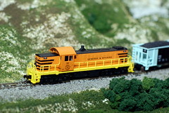 Genesee and Wyoming Alco RS1 Diorama