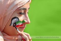 Independence day drawing (Banafsaj_Q8 .. Free Photographer) Tags: portrait face nikon free photographers kuwait draw feb nada hala q8 2526   d90     alanood  marafie  alotaibi  banfsaj