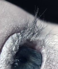 I see frozen landscapes (JenniPenni) Tags: winter eye death frozen lashes sparkle 365 iwonderwheniwakeup butalliwanttodoissleep allthecolorsseemwashedout
